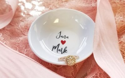 couples ring dish - engagement gift - wedding gift