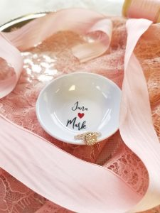 couples ring dish - engagement gift - wedding gift