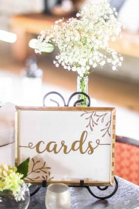 Wedding Card Sign