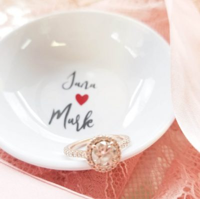 Custom Ring Dish Jewelry Dish
