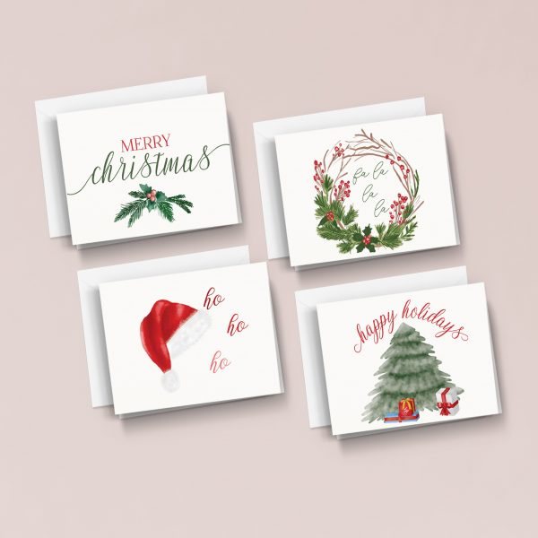 holiday pack of christmas cards