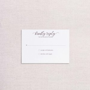 Watercolor floral venue illustration wedding invitationreplt card